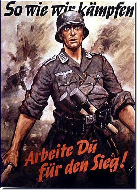 Niemieckie Plakaty Propagandowe Z Ii Wojny światowej