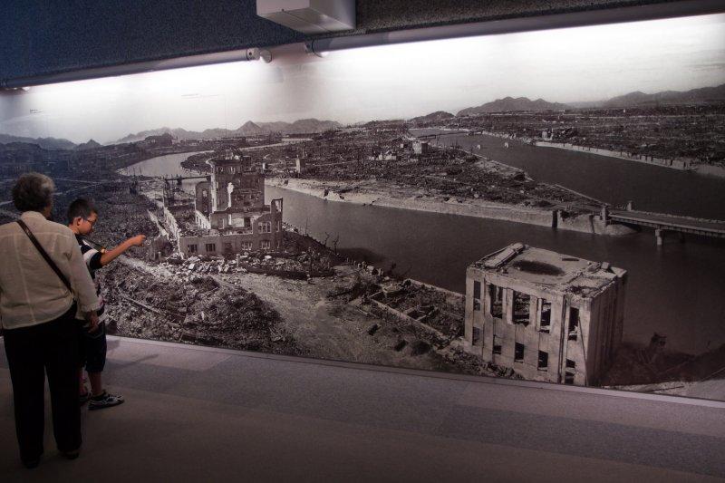 Hiroshima z datowaniem węglowym