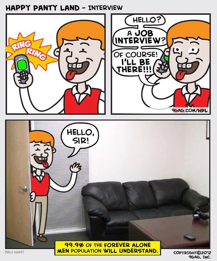 Fake Couch Auditions: Rozmowa Kwalifikacyjna